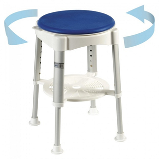 50500113- Rotatable Adjustable Shower Stool