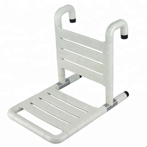 50200279-Nylon Swing Up Shower Seat with Back