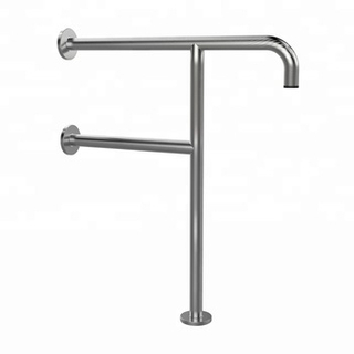 50400007-Stainless Steel Wall Ground Mounted Handrail